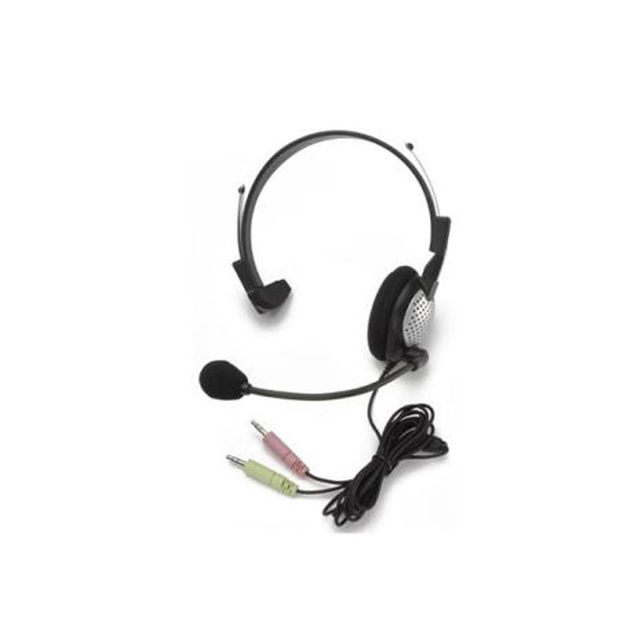 Andrea NC-181 VM, Dragon certified High Fidelity Monaural PC Headset with Noise Canceling Microphone
