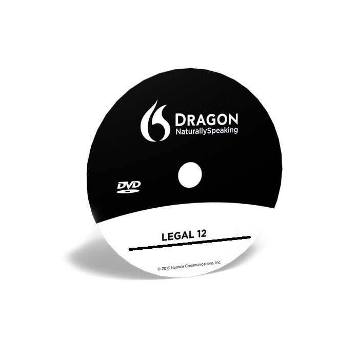 Dragon Legal 12 5 in Brown Box, Speech recognition software (OLD VERSION)